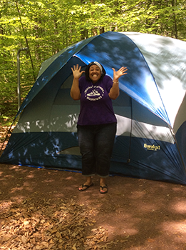 Stacey-Camping