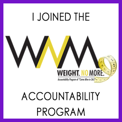 Grab your Weight No More Challenge Button
