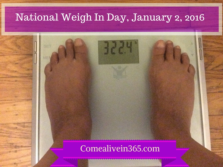 National Weigh In Day