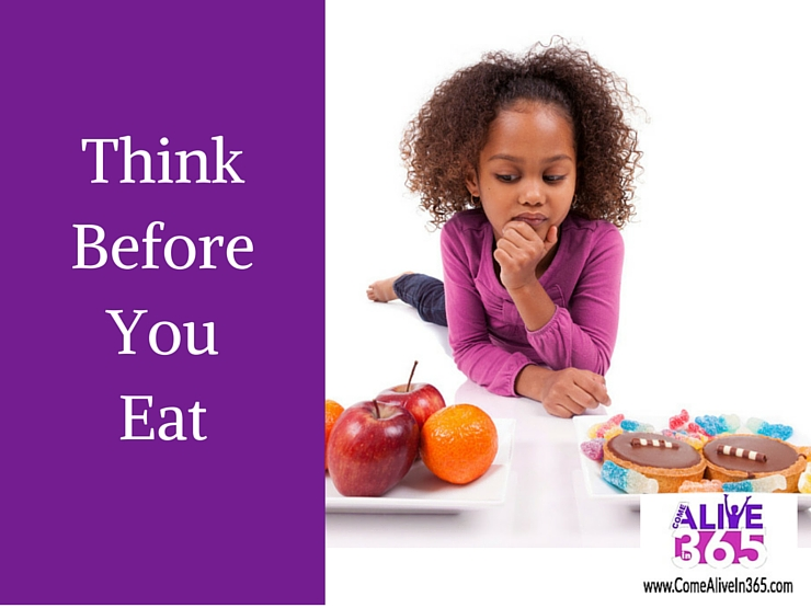 Think Before You Eat