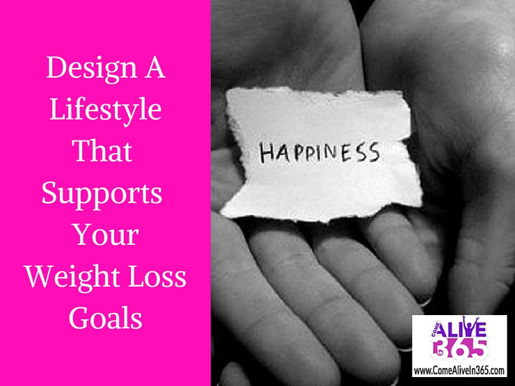 Design A Lifestyle That Supports Your Weight Loss Goals