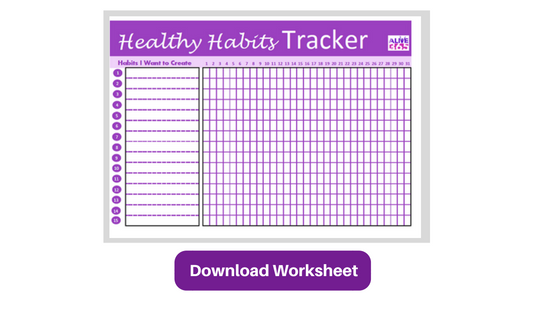 healthy-habits-worksheet