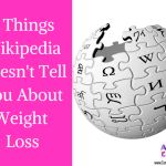 Wikipedia, Weight Loss